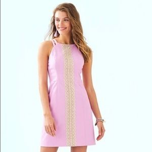 NWT LILLY PULITZER PEARL SHIFT DRESS SIZE 8
